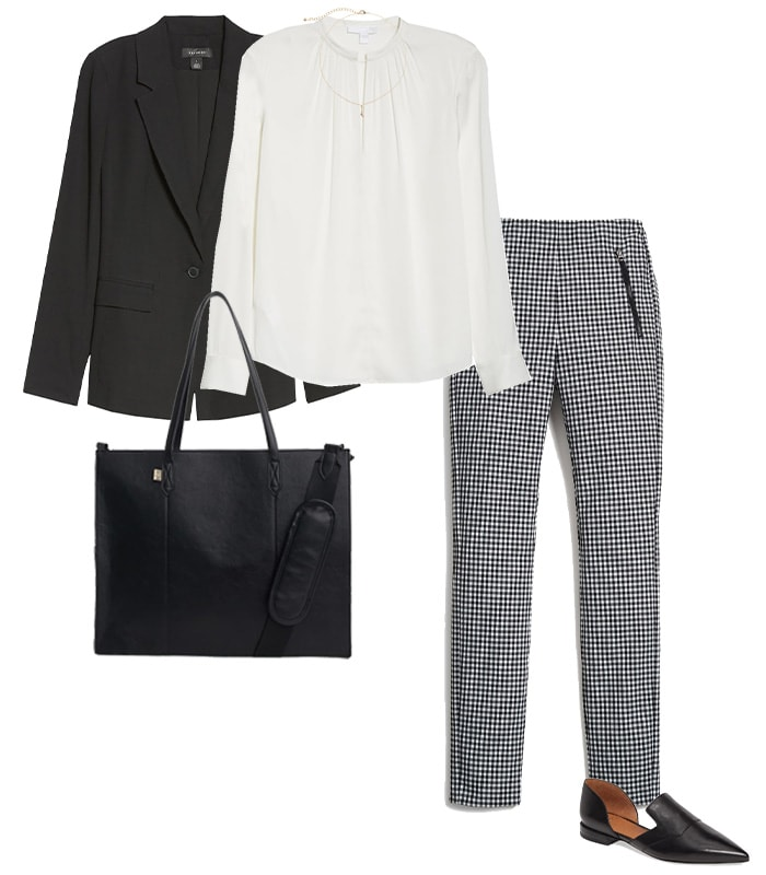 What to wear to a conference - business casual | 40plusstyle.com
