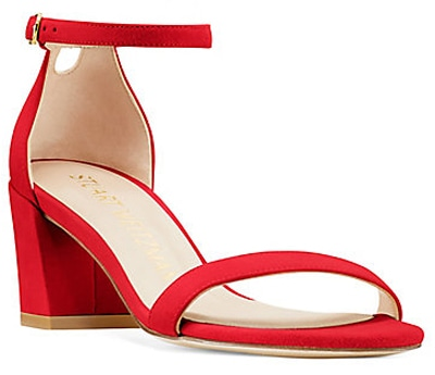 Stuart Weitzman 'The Simple Sandal' | 40plusstyle.com