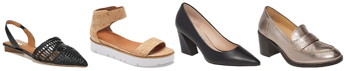 shoes in the latest fashion trends | 40plusstyle.com