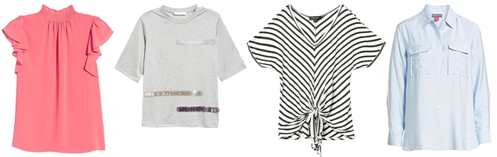 tops for the trendy style personality | 40plusstyle.com