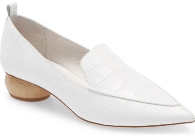 Jeffrey Campbell 'Viona' Pointed Toe Loafer   40plusstyle.com
