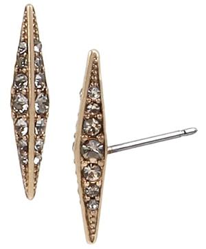 ALLSAINTS stud earrings | 40plusstyle.com