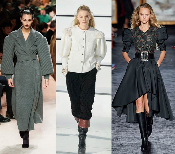 Fall 2020 trends - puffed sleeves   40plusstyle.com