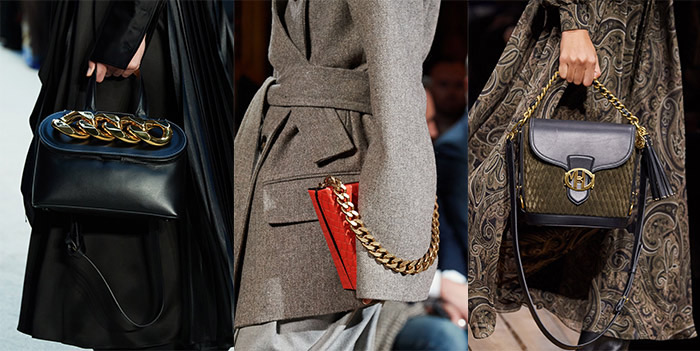 Chain detail bags   40plusstyle.com