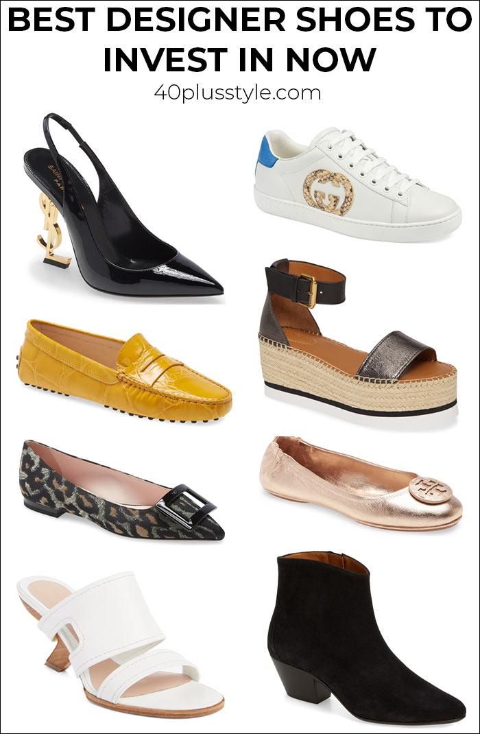 Best designer shoes to invest in now - and wear for years | 40plusstyle.com