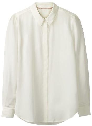 Boden silk shirt | 40plusstyle.com