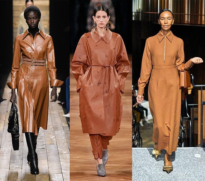 Fall 2020 color trends - caramel | 40plusstyle.com