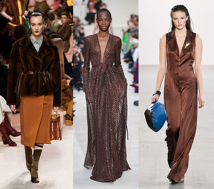 Fall 2020 color trends - chocolate brown   40plusstyle.com