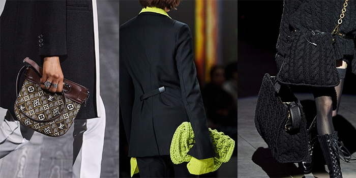 Knitted and woven bags for fall 2020   40plusstyle.com