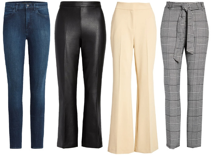Jeans and pants for a fall capsule wardrobe | 40plusstyle.com