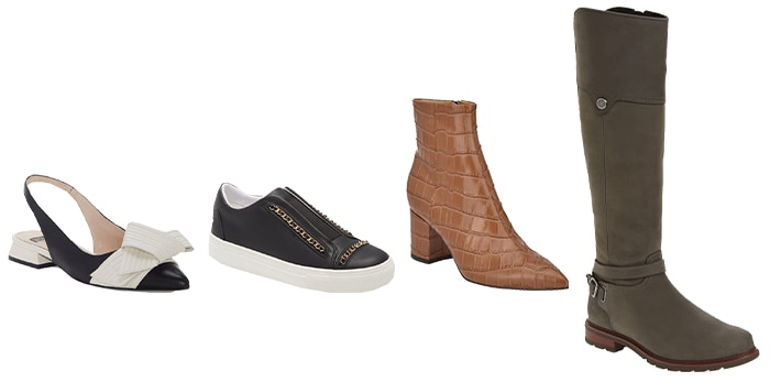 Shoes and boots for a fall capsule wardrobe | 40plusstyle.com