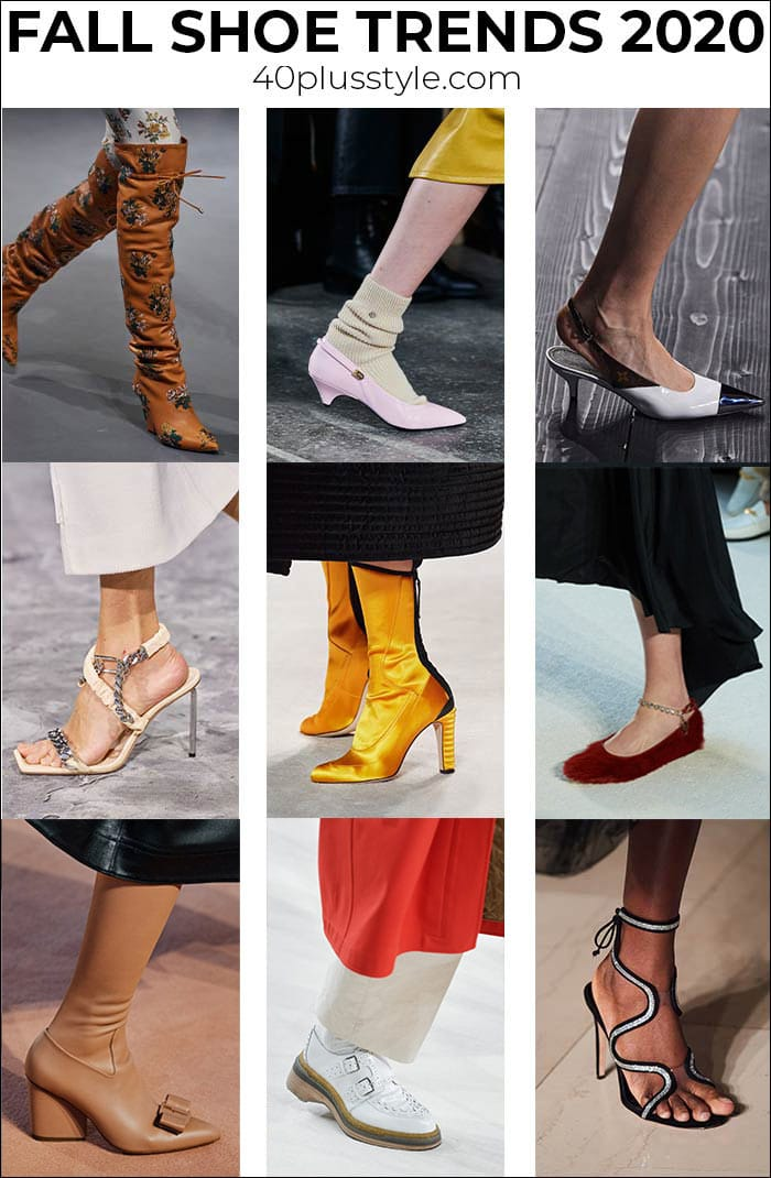 Fall shoe trends 2020: The best fall shoes and boots from the catwalks to your closet | 40plusstyle.com
