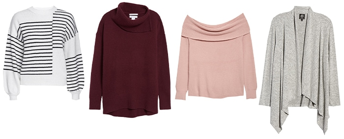 Sweaters for a fall capsule wardrobe | 40plusstyle.com