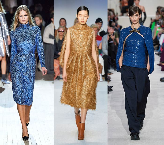 Fall looks for women - sequins and sparkles   40plusstyle.com