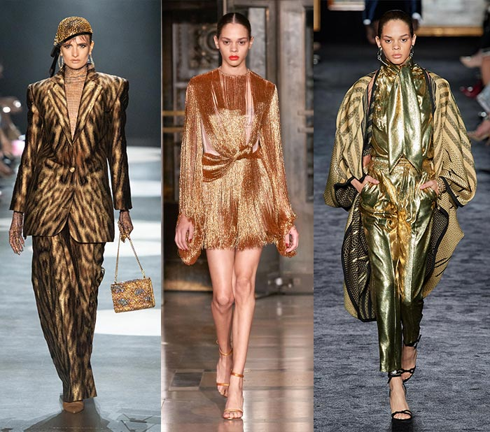 wearing gold for fall 2020 | 40plusstyle.com