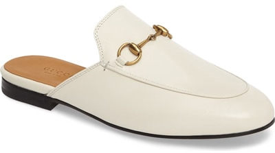Best designer shoes - Gucci 'Princetown' loafer mule | 40plusstyle.com