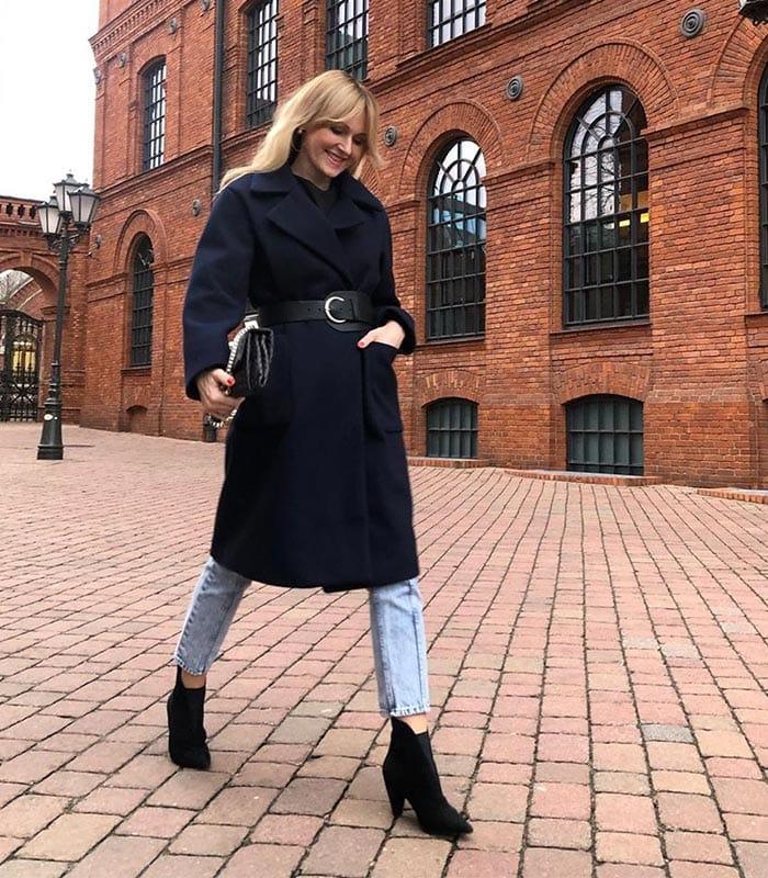 80s fur trim hood overcoat minimalist dark brown long duster car coat brown wool winter coat large minimal long peacoat