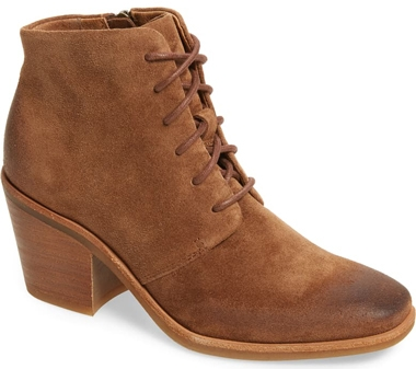 Shoes with arch support - Söfft 'Corlea' lace-up bootie | 40pliusstyle.com