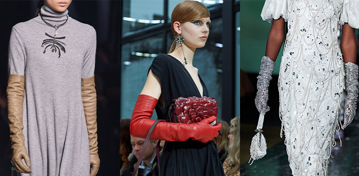 Fall 2020 trends - long opera gloves | 40plusstyle.com