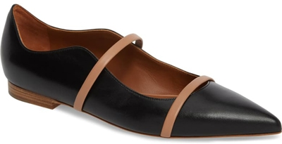 Malone Souliers pointy toe flat | 40plusstyle.com