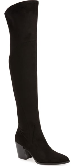 Marc Fisher LTD 'Cathi' over the knee boot | 40plusstyle.com
