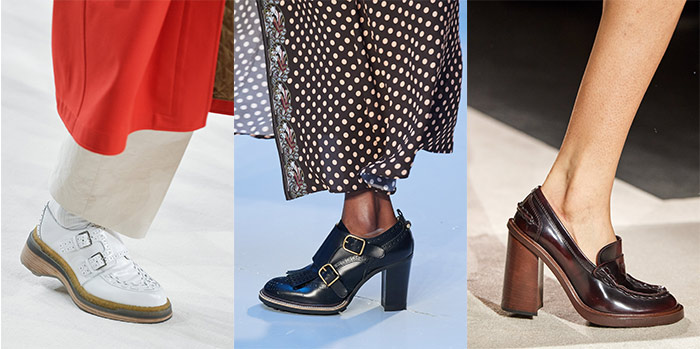 fall shoe trends - menswear inspired shoes   40plusstyle.com