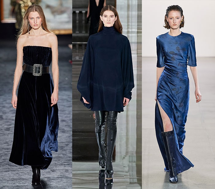 navy is a stylish alternative to black for fall 2020 | 40plusstyle.com