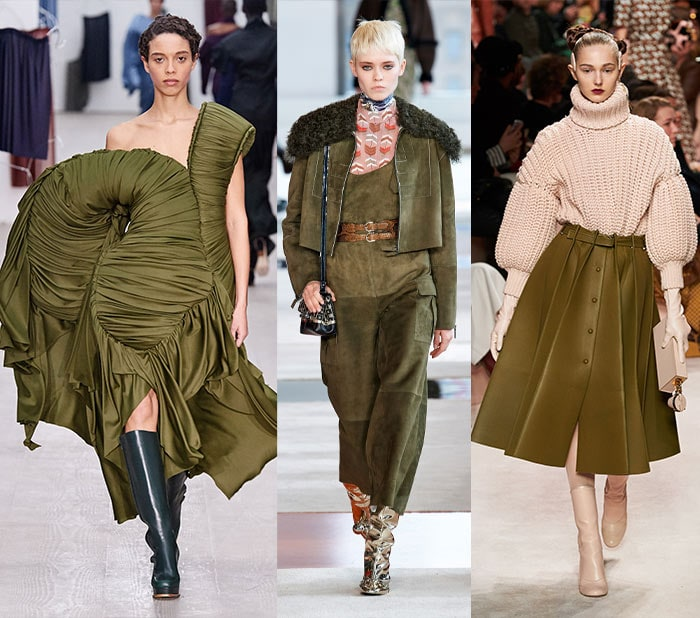 wearing olive green as a neutral for fall 2020 | 40plusstyle.com