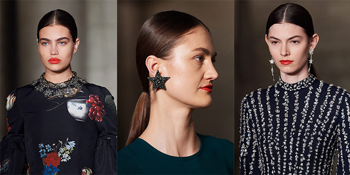 star jewelry at Oscar de la Renta | 40plusstyle.com