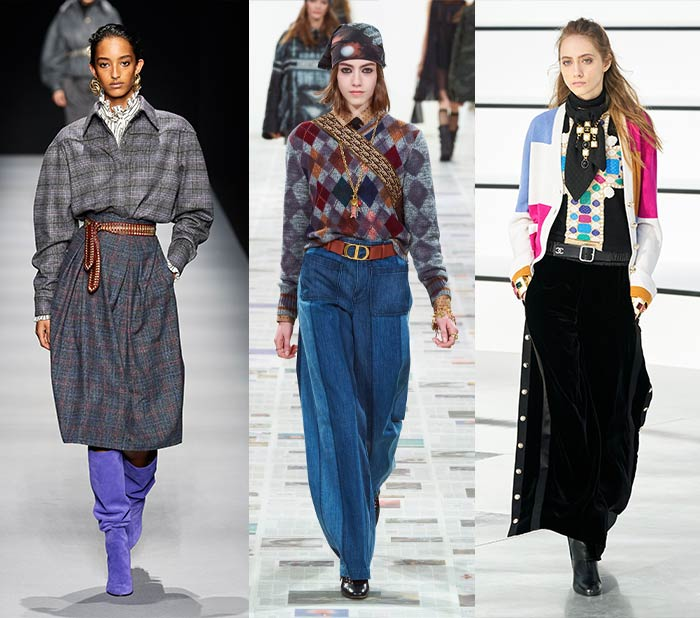 preppy looks on the fall 2020 runways | 40plusstyle.com