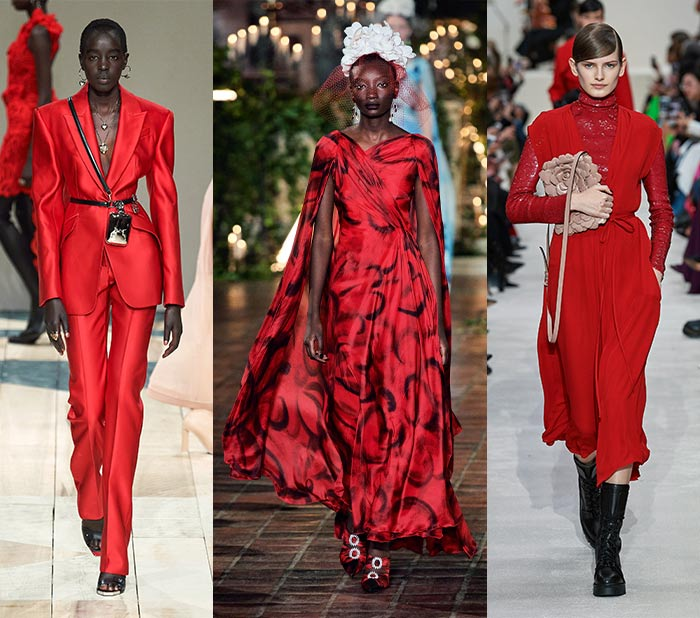 Fall clothing colors - red | 40plusstyle.com