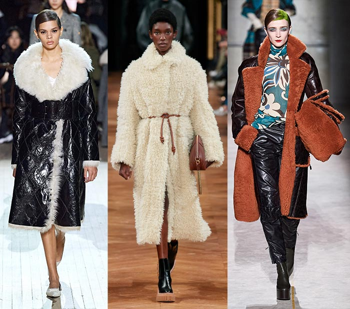 Fall fashion for women - Shearling   40plusstyle.com