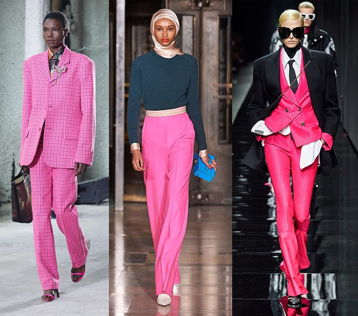 Fall clothing colors - shocking pink   40plusstyle.com