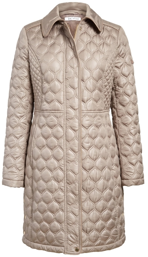 Via Spiga quilted jacket | 40plusstyle.com