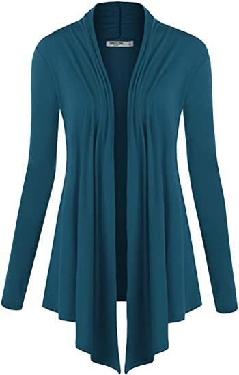Lock and Love draped cardigan | 40plusstyle.com