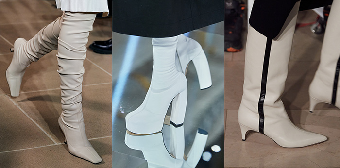 fall boot trends - white boots   40plusstyle.com