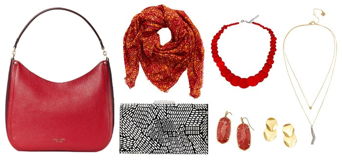 Accessories to go with your apple body shape clothes | 40plusstyle.com