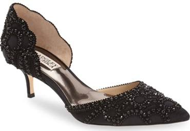 Badgley Mischka Collection 'Ginny' d'Orsay pump | 40plusstyle.com