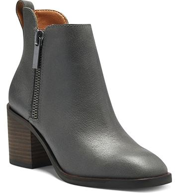 Lucky Brand 'Walba' bootie | 40plusstyle.com