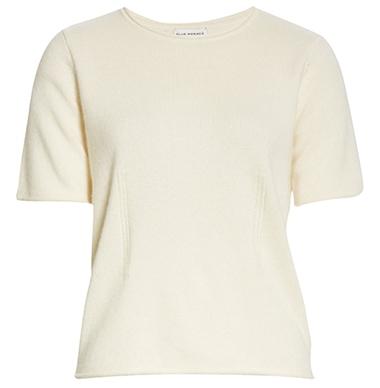 Club Monaco cashmere sweater | 40plusstyle.com