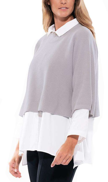 Stella Carakasi cropped sweater   40plusstyle.com