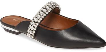 Kurt Geiger London 'Princely' crystal embellished mule | 40plusstyle.com