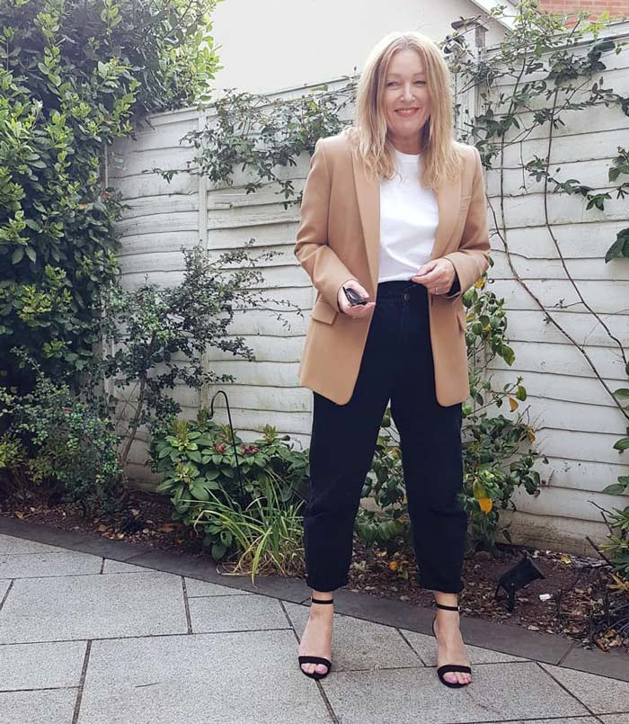 The best shoes to pair with boyfriend pants | 40plusstyle.com