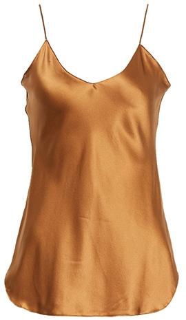 Nili Lotan silk camisole | 40plusstyle.com