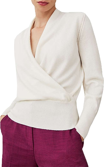 John Lewis - the best store to buy winter knitwear   40plusstyle.com
