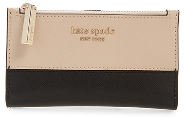 Kate Spade New York bifold wallet | 40plusstyle.com