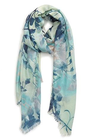 Nordstrom cashmere & silk wrap | 40plusstyle.com