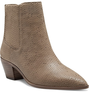 Sole Society 'Lolanna' pointed toe bootie | 40plusstyle.com