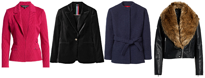 jackets to wear with wide leg pants | 40plusstyle.com