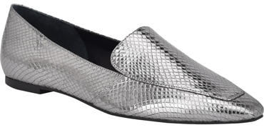 Low heel party shoes - Marc Fisher LTD 'Enaba' square toe loafer | 40plusstyle.com